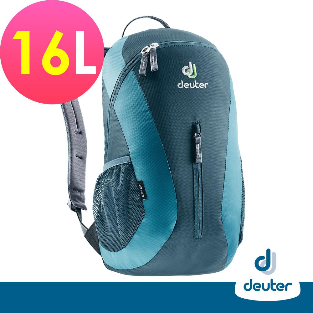 【德國DEUTER】City Light 16L運動休閒旅遊後背包80154藍/灰藍