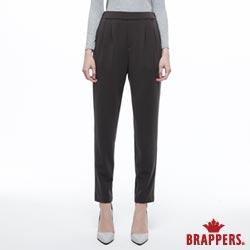 BRAPPERS 女款 LC-Cargo 系列-彈性鬆緊帶性休閒八分褲-黑