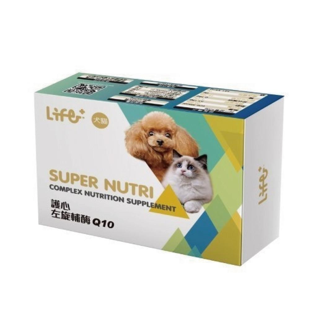 LIFE+ 《左旋輔酶Q10膠囊》40粒/盒 適用犬貓