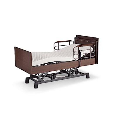 KOIZUMI-CARE-UP昇降三馬達居家電動床-胡桃木色