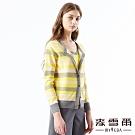 【麥雪爾】羊毛混紡組織變化針織外套