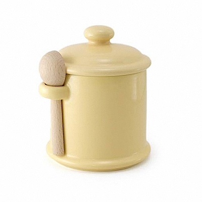 ZERO JAPAN 陶瓷儲物罐(香蕉黃)300ml
