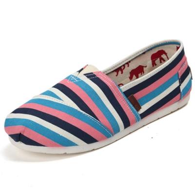 韓國KW美鞋館 (現貨+預購) 懶人帆布鞋 嫩彩系散步樂活款-藍