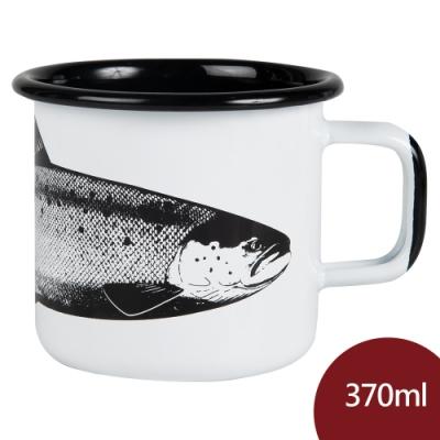 Muurla 北歐琺瑯馬克杯 鮭魚 370ml