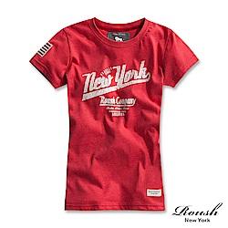 Roush 女生NEW YORK美式柔棉短TEE(3色)