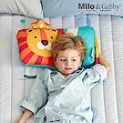 Milo&Gabby動物好朋友-超細纖維防蹣抗菌mini枕心枕套組(LONNIE小獅王)