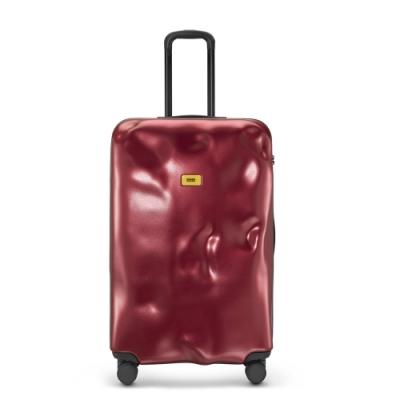 【Crash Baggage】Icon拉鍊款29吋金屬紅防撞行李箱