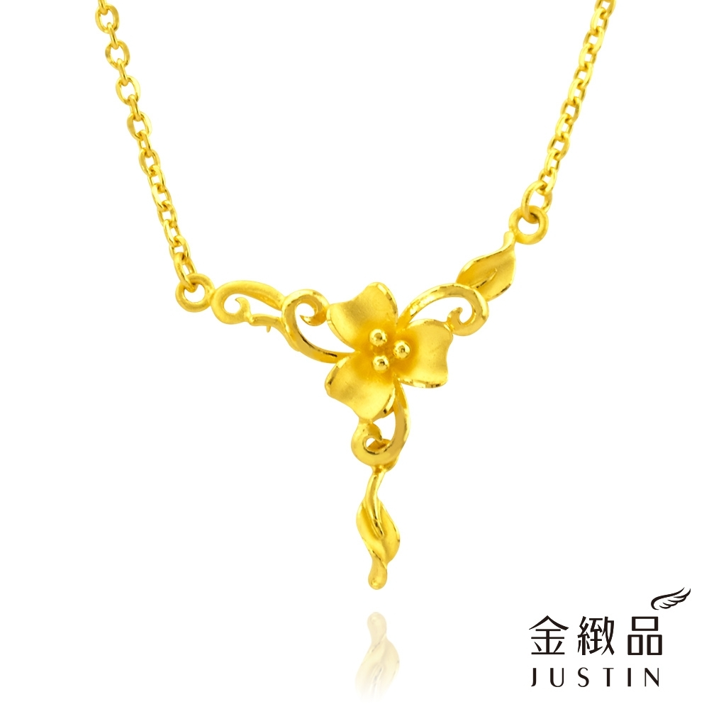金緻品 黃金項鍊 幸福降臨 1.12錢