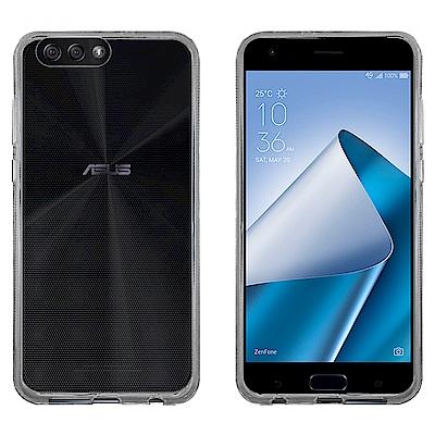 Metal-Slim ASUS ZF 4  ZE 554 KL 時尚超薄TPU透明軟殼