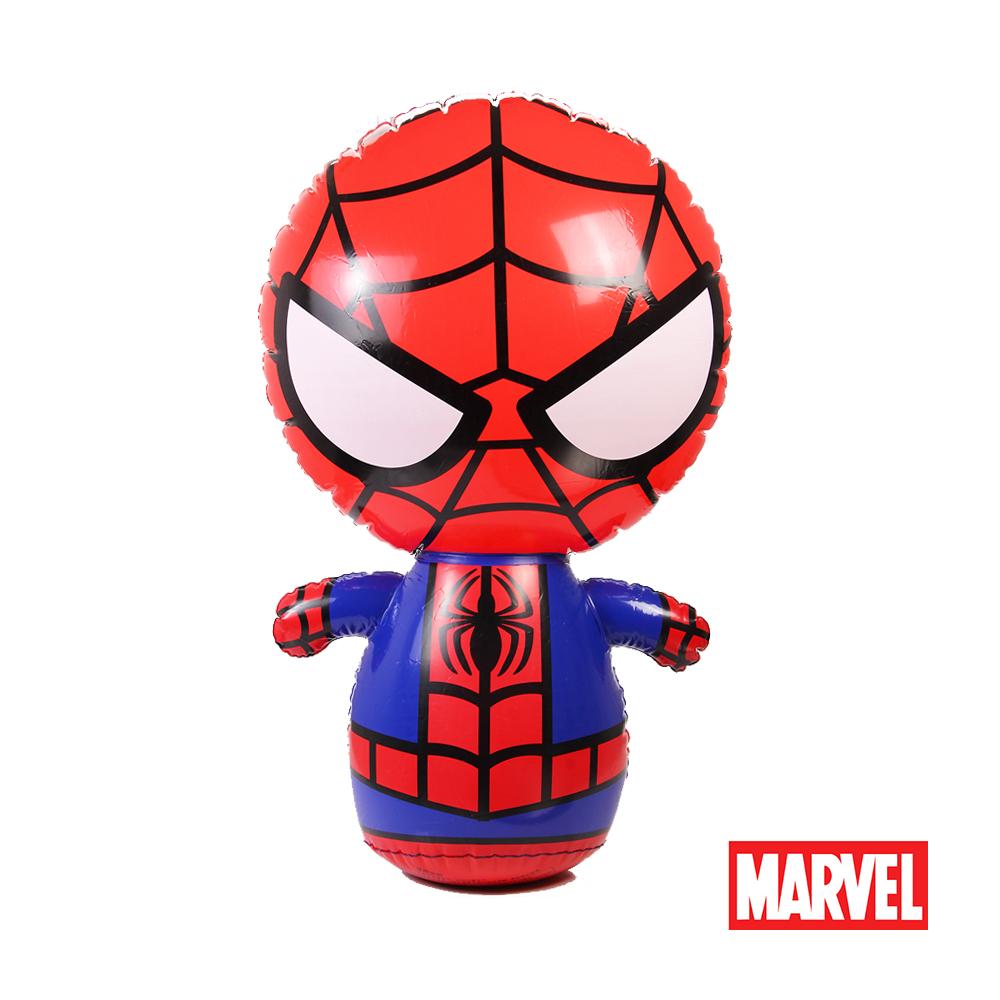 《凡太奇》漫威Marvel 90CM蜘蛛人充氣不倒翁 Z70090-S1-速