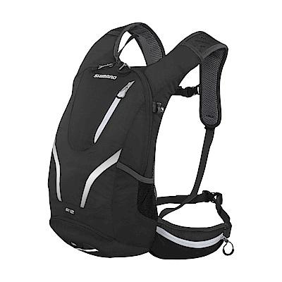 【SHIMANO】ROKKO 12L 多功能水袋背包 黑