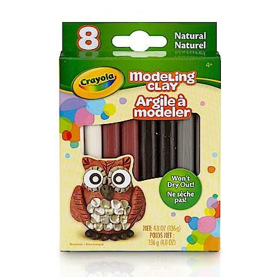 美國crayola 繪兒樂 造型黏土自然色4色(3Y+)