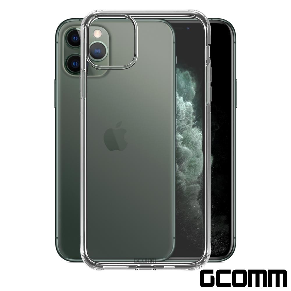 GCOMM iPhone 11 Pro Max 清透圓角防滑邊保護套 Round Edge