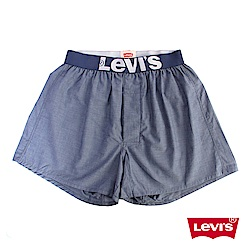 Levis 四角褲Boxer 寬鬆舒適 藍色