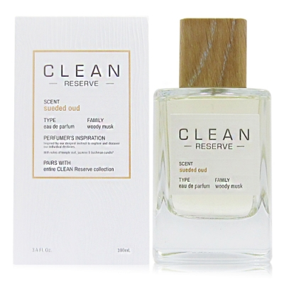 CLEAN RESERVE Sueded Oud 麂皮烏木淡香精 100ml