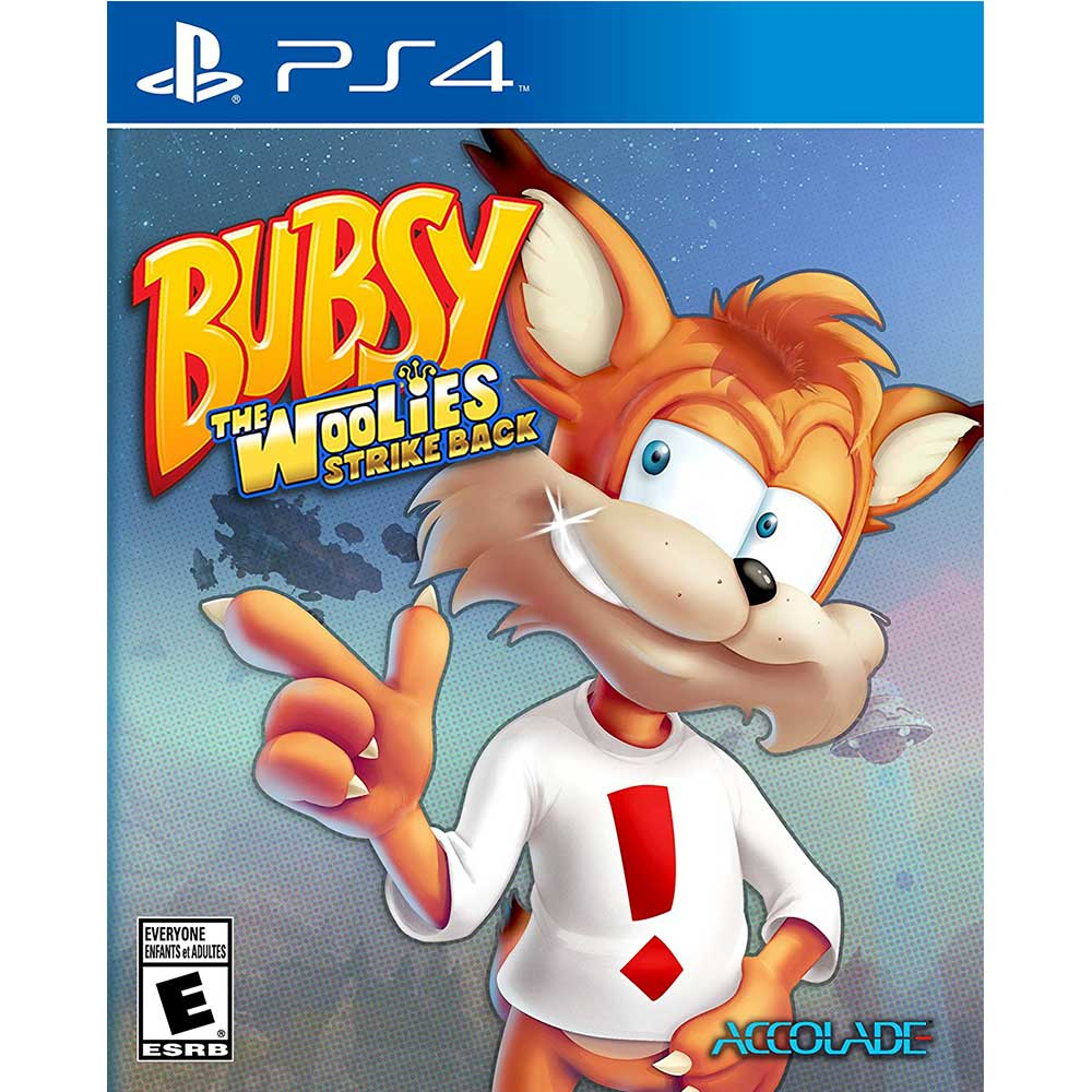 大笨貓:烏力的反擊 Bubsy:The Woolies Strike - PS4 英文美版