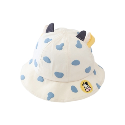 童裝 乳牛印花牛角漁夫帽 共二色 TATA KIDS