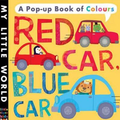 Red Car, Blue Car 五彩繽紛的世界硬頁立體書