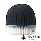 【ATUNAS 歐都納】3M漸層針織保溫棉保暖毛帽(A1-A1849黑/白)