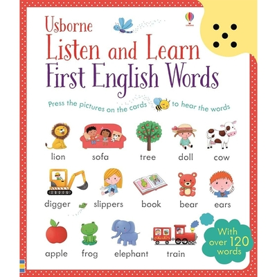 Listen And Learn First English Words 單字聽說學習本