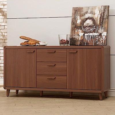 D&T德泰傢俱 愛維斯北歐生活5.3尺餐櫃-160x40x78cm