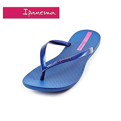 IPANEMA WAVE系列 森巴舞曲夾腳拖鞋(女款)-深藍色