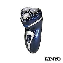 KINYO 三刀頭 國際通用電壓充電刮鬍刀KS323