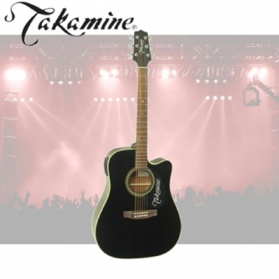 Takamine ED51C木吉他 / 黑色 / 贈超值配件包 / 公斯貨保固