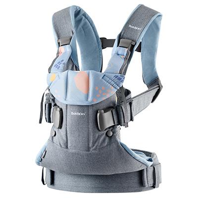 奇哥 BABYBJORN One 旗艦版抱嬰袋-限量藍灰