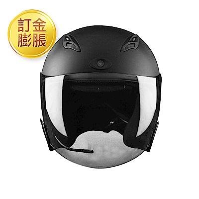 [限訂金膨脹購買]JARVISH Flash F2 智慧安全帽 機車行車紀錄器 - 黑