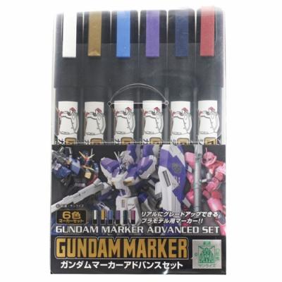 MR.HOBBY 鋼彈筆6色彩色筆組 GMS-124