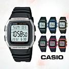 CASIO卡西歐 兩地時間經典電子錶(W-96H)