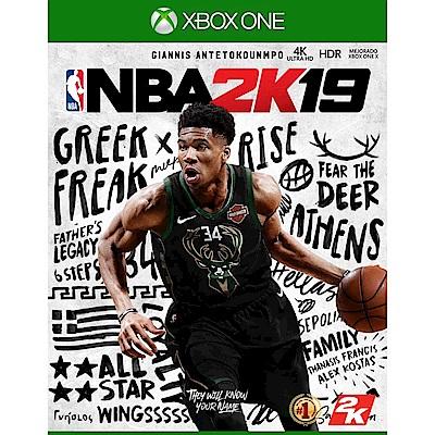 NBA 2K19 - XBOX ONE 亞版 中文一般版