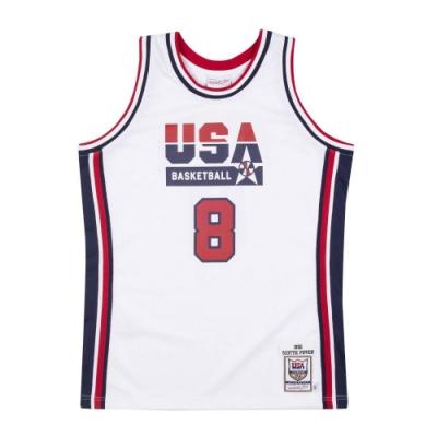 M&N Authentic球員版復古球衣 92 Dream Team #8 Scottie Pippen