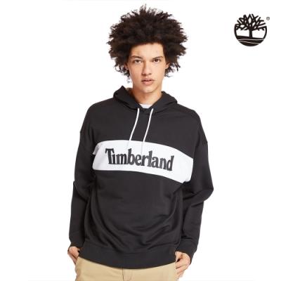 Timberland 男款黑色運動長袖連帽上衣 A227W