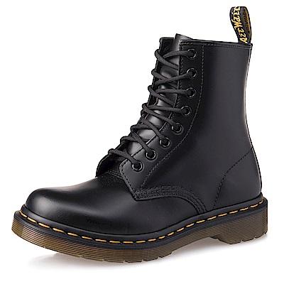 Dr.Martens-經典1460 8孔亮皮馬汀靴-女款