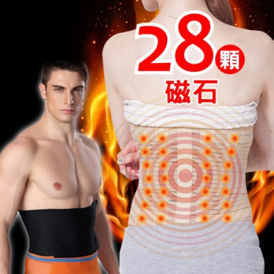 【JS嚴選】銷售冠軍養生磁石腰帶(磁石腰帶+爆汗腰帶)