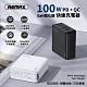 【REMAX】氮化鎵 PD/QC3.0 100W 四孔輸出 快速充電器 (RP-U78) product thumbnail 1