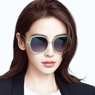 MOLSION太陽眼鏡 Angelababy代言/水藍-金#MS6038 A70