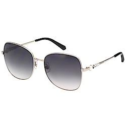 SWAROVSKI-太陽眼鏡-銀色-SK181