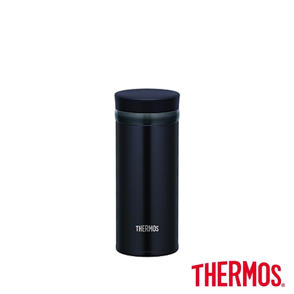 THERMOS膳魔師不鏽鋼真空保溫杯0.25L(JNO-252-DNVY)(深藍色)
