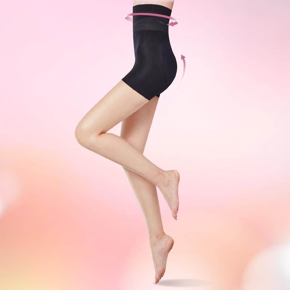 THECURVE 蔻麗芙 全速修身微整型一分褲超值2入組-白色款