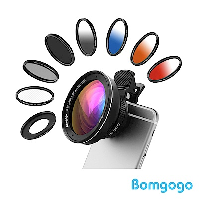 Bomgogo Govision L3 Combo 10合1廣角微距手機鏡頭組(58mm)