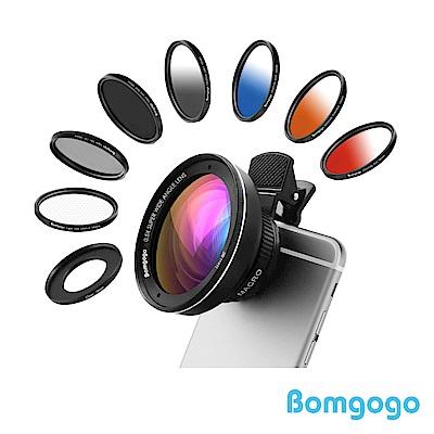 Bomgogo Govision L3 Combo 10合1廣角微距手機鏡頭組58mm