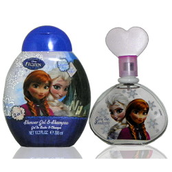 Disney Frozen 冰雪奇緣淡香水 100ml + 沐浴精 300ml 無外盒包裝