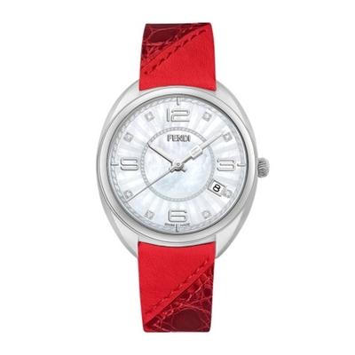 FENDI MEMENTO優越值感時尚腕錶/F217034573D1