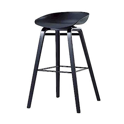 Bernice-娜拉簡約吧台椅/高腳椅(三色可選)-43x43x82cm