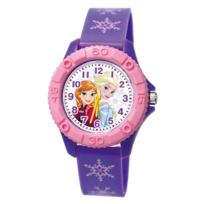DF童趣館 - 迪士尼系列米奇防潑水雙色殼兒童手錶-共11色