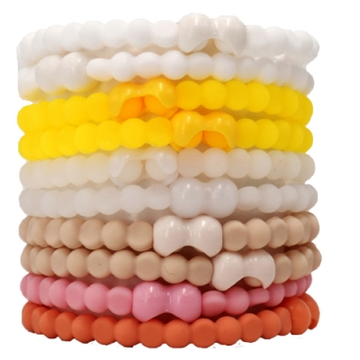 Pro Hair Tie 扣環髮圈10件組-簡單小日子