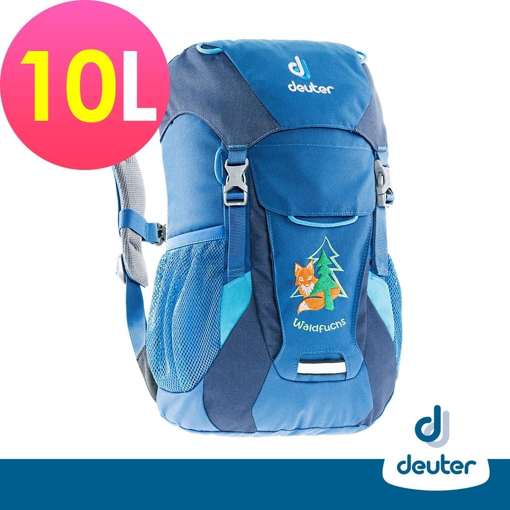 【deuter德國】WALDFUCHS 10L兒童背包/書包/旅遊包3610015藍/深藍